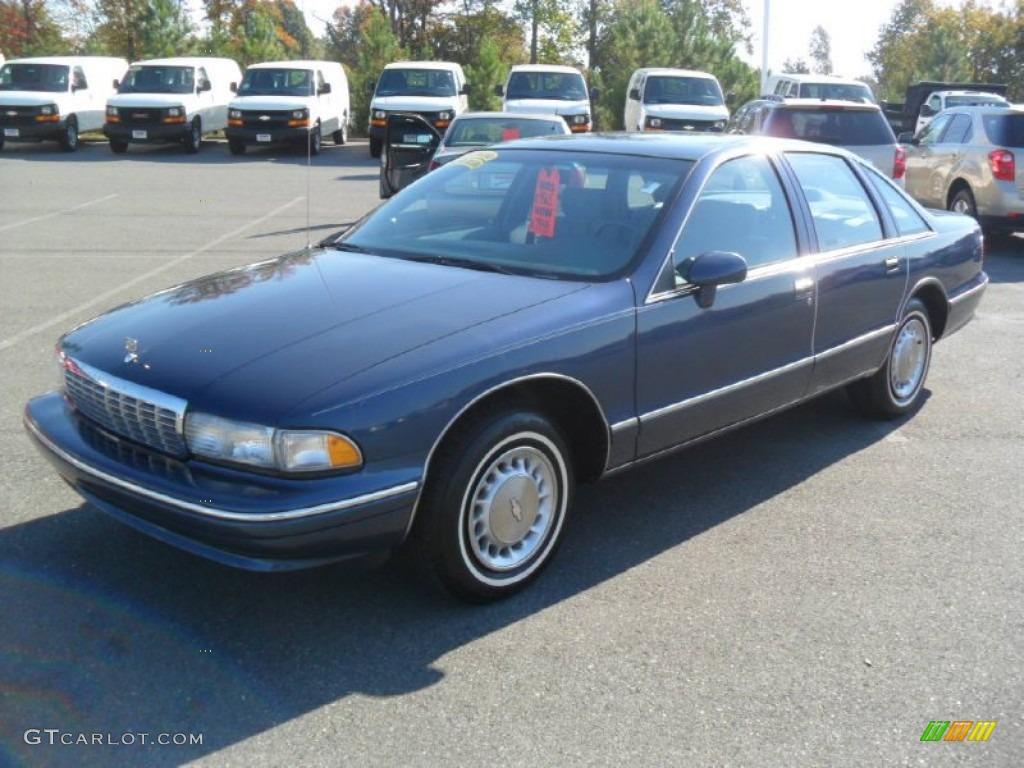 Medium Adriatic Blue Metallic Chevrolet Caprice