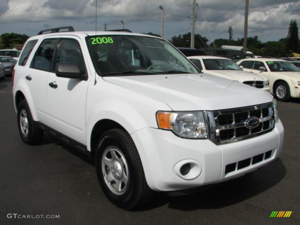 Oxford White 2008 Ford Escape Xls Exterior Photo 55790620
