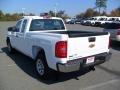 2012 Summit White Chevrolet Silverado 1500 Work Truck Extended Cab  photo #2