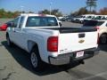 2012 Summit White Chevrolet Silverado 1500 Work Truck Extended Cab  photo #2