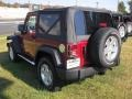 2012 Deep Cherry Red Crystal Pearl Jeep Wrangler Sport S 4x4  photo #2