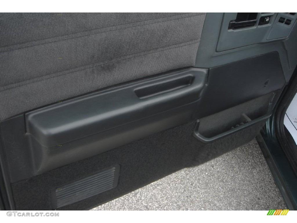 1994 Chevrolet S10 Blazer 4x4 Gray Door Panel Photo 55794269