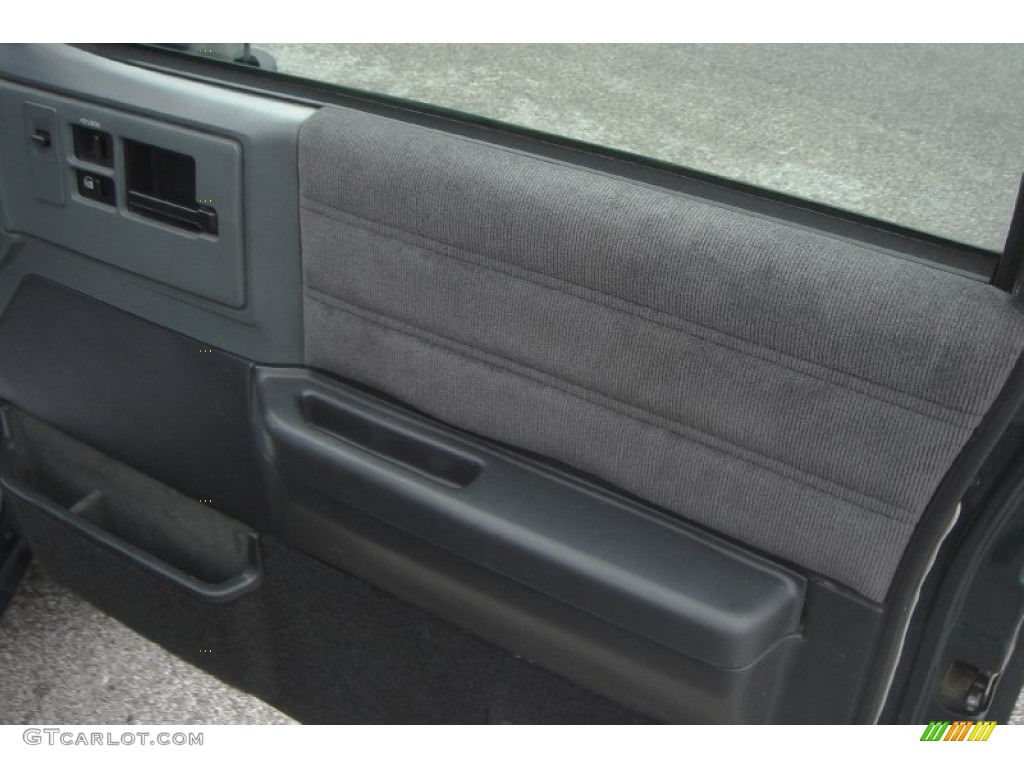 1994 Chevrolet S10 Blazer 4x4 Gray Door Panel Photo 55794372