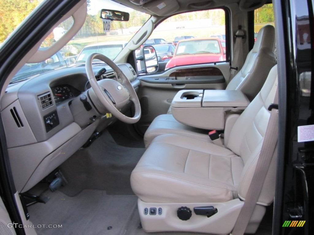 2004 Ford F250 Super Duty Lariat Crew Cab 4x4 Interior Photo F 250 55795622