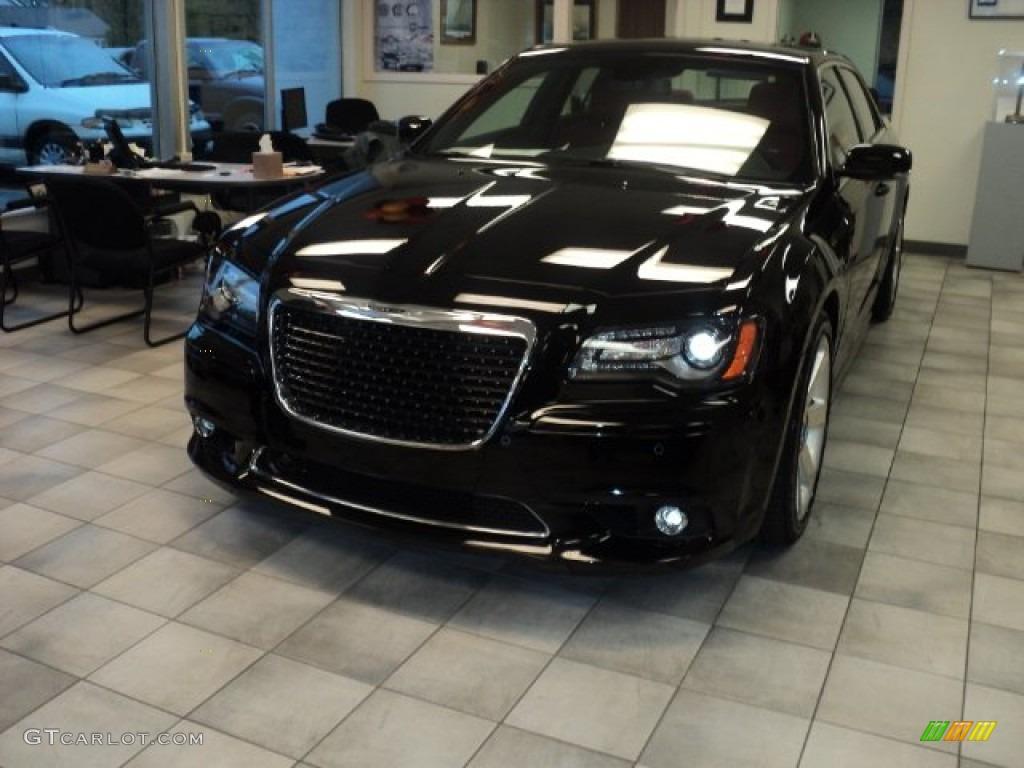2012 Gloss Black Chrysler 300 Srt8 55757035 Car Color Galleries