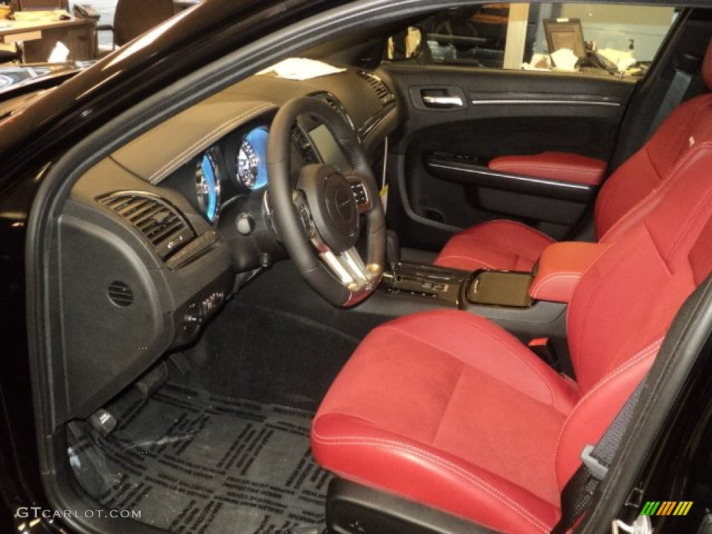 Black Radar Red Interior 2012 Chrysler 300 Srt8 Photo 55797800