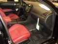 2012 300 SRT8 Black/Radar Red Interior