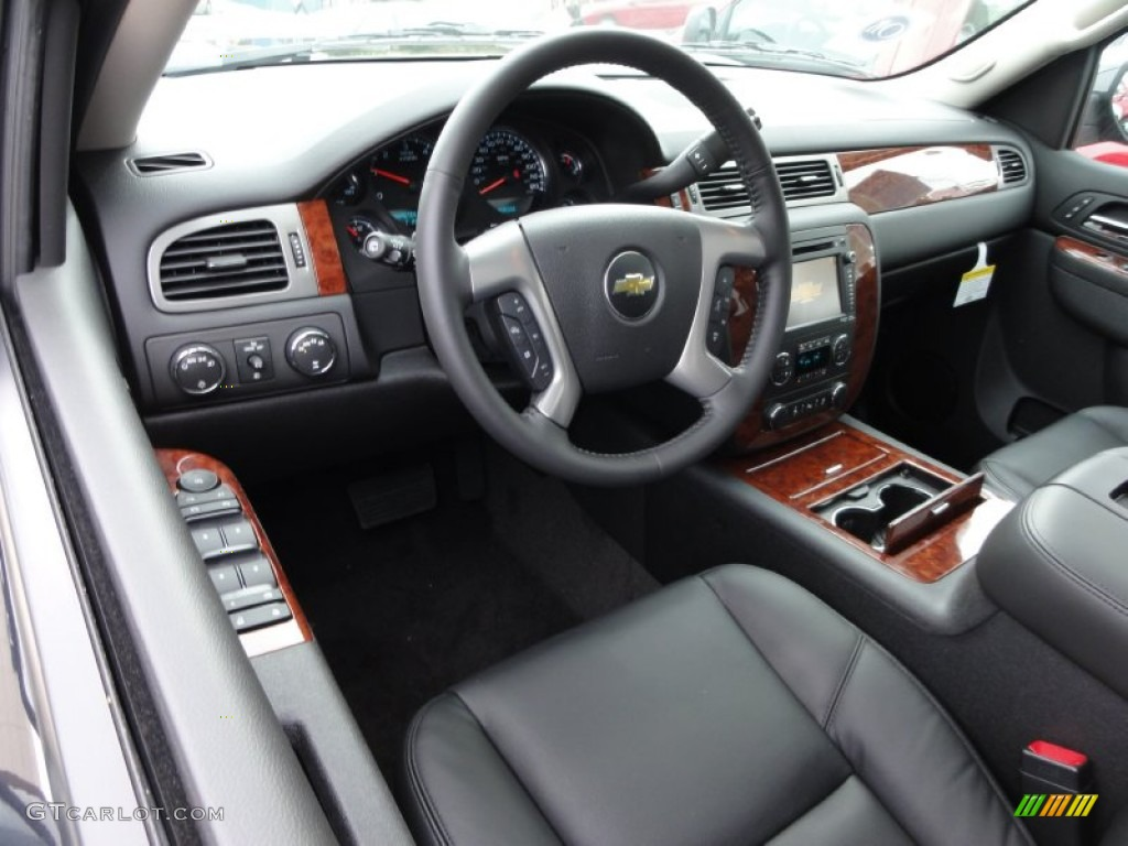 2012 Black Granite Metallic Chevrolet Tahoe LTZ 4x4 55779427