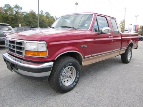 1995 Ford F150 XL Extended Cab 4x4 Data, Info and Specs