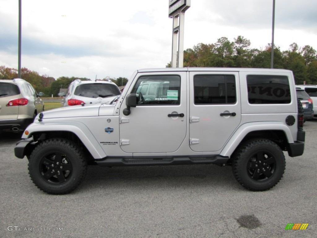 bright silver metallic 2012 jeep wrangler unlimited sahara arctic