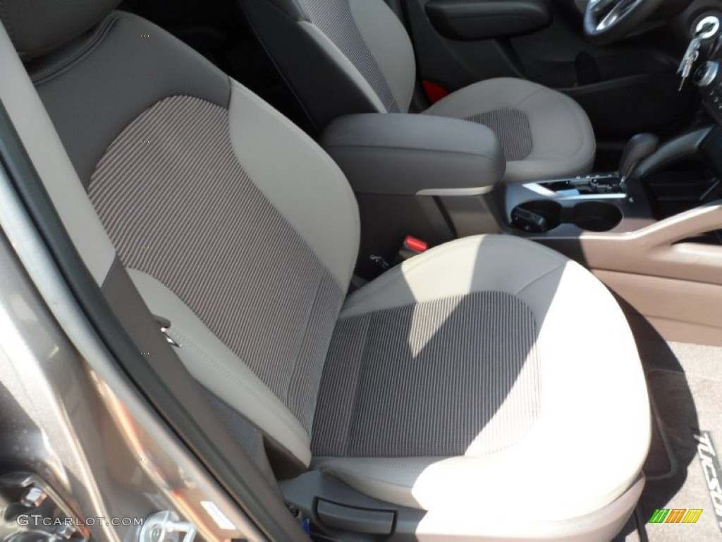 Taupe Interior 2012 Hyundai Tucson Gls Photo 55816763