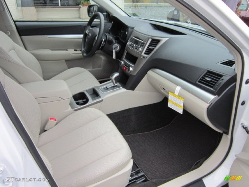 Warm Ivory Interior 2012 Subaru Outback Photo 55818062