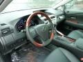 Black 2012 Lexus RX Interiors