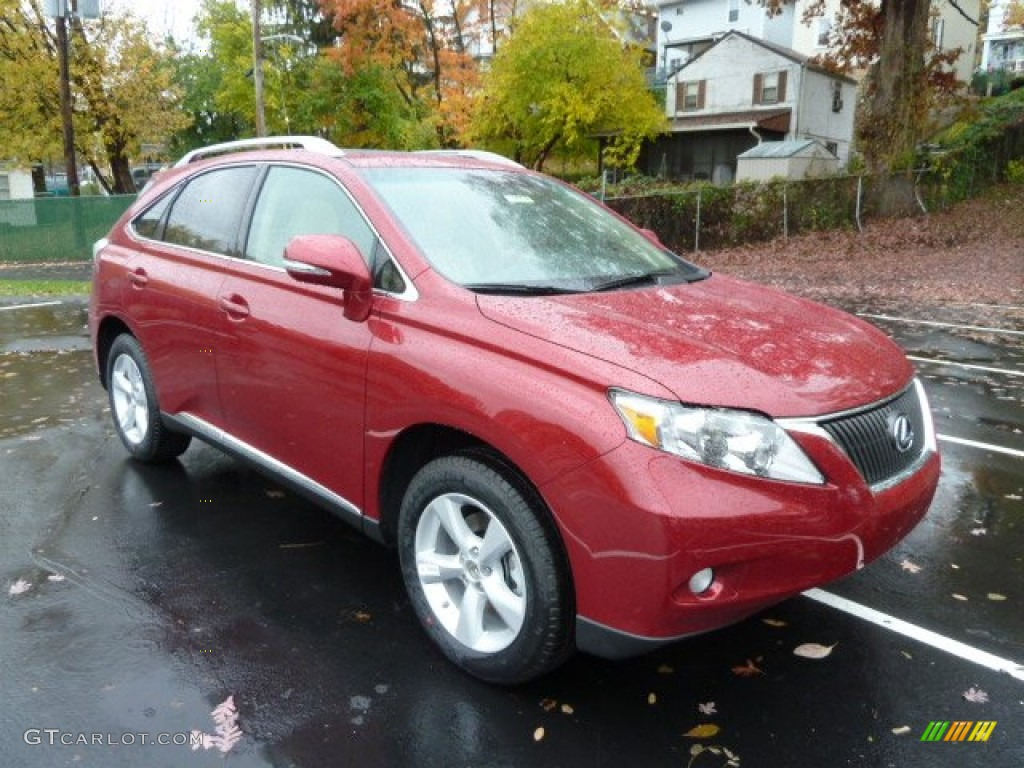 Matador Red Metallic 2012 Lexus Rx 350 Awd Exterior Photo 55825568