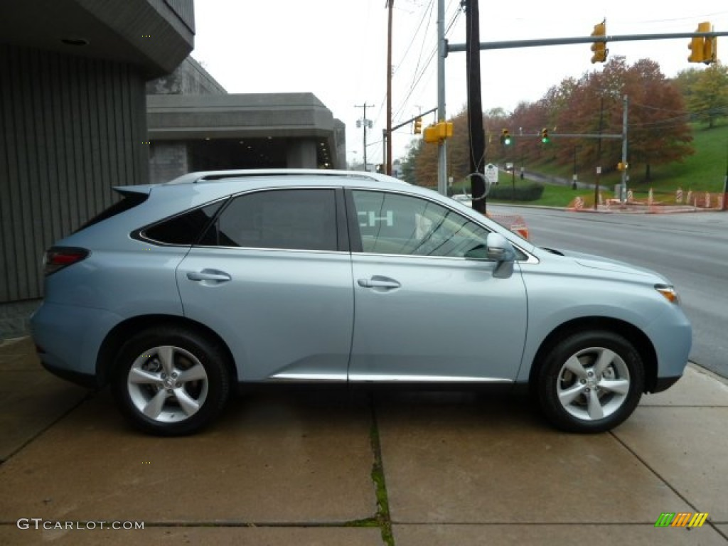 Cerulean Blue Metallic 2012 Lexus Rx 350 Awd Exterior Photo 55826099