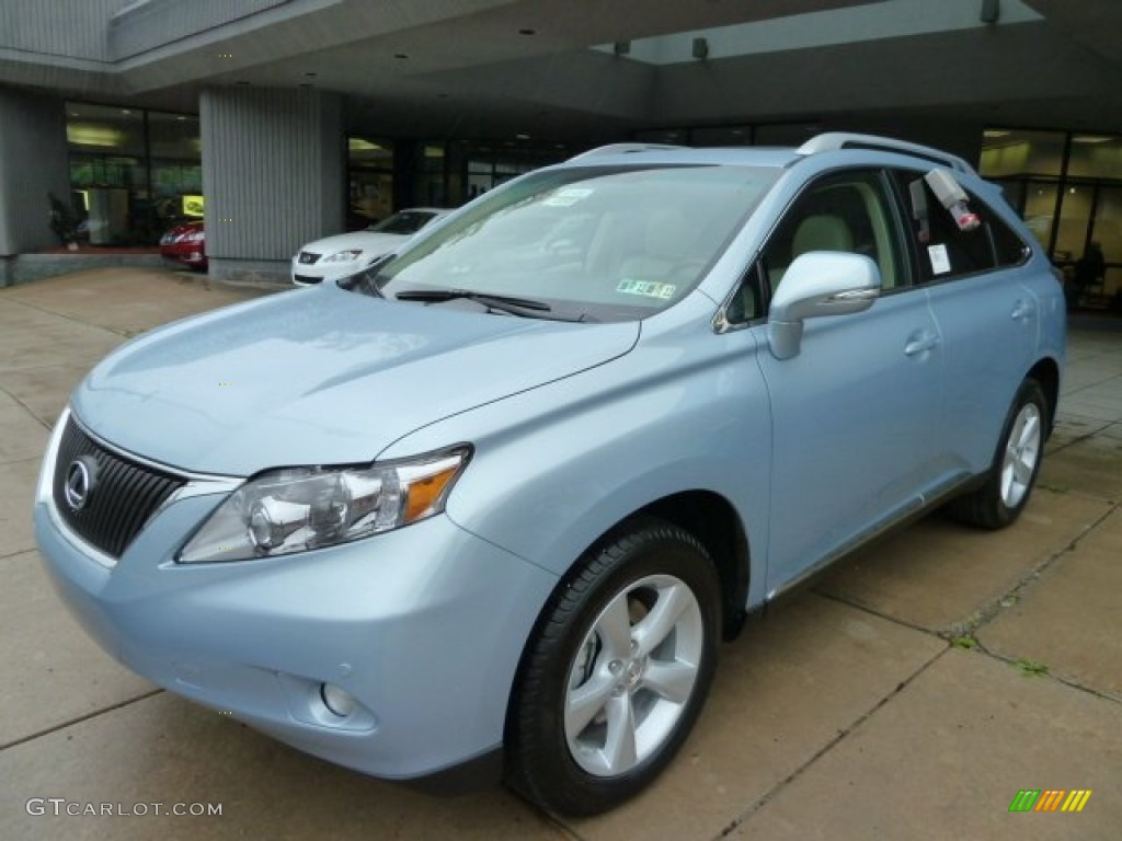 cerulean blue metallic 2012 lexus rx 350 awd exterior. Black Bedroom Furniture Sets. Home Design Ideas