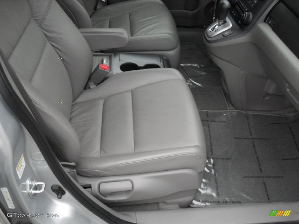 2009 CR-V EX-L - Alabaster Silver Metallic / Gray photo #19
