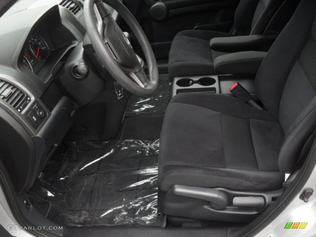 2010 CR-V EX - Alabaster Silver Metallic / Black photo #7