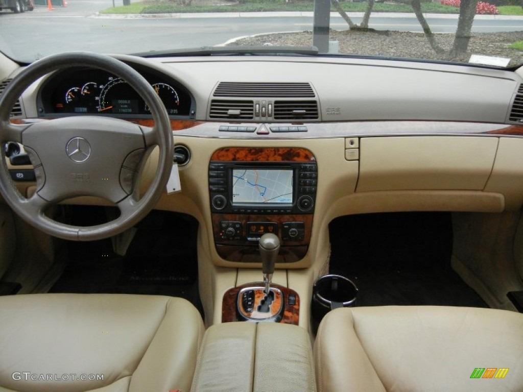 2003 mercedes benz s 500 sedan java dashboard photo for Mercedes benz dashboard lights not working