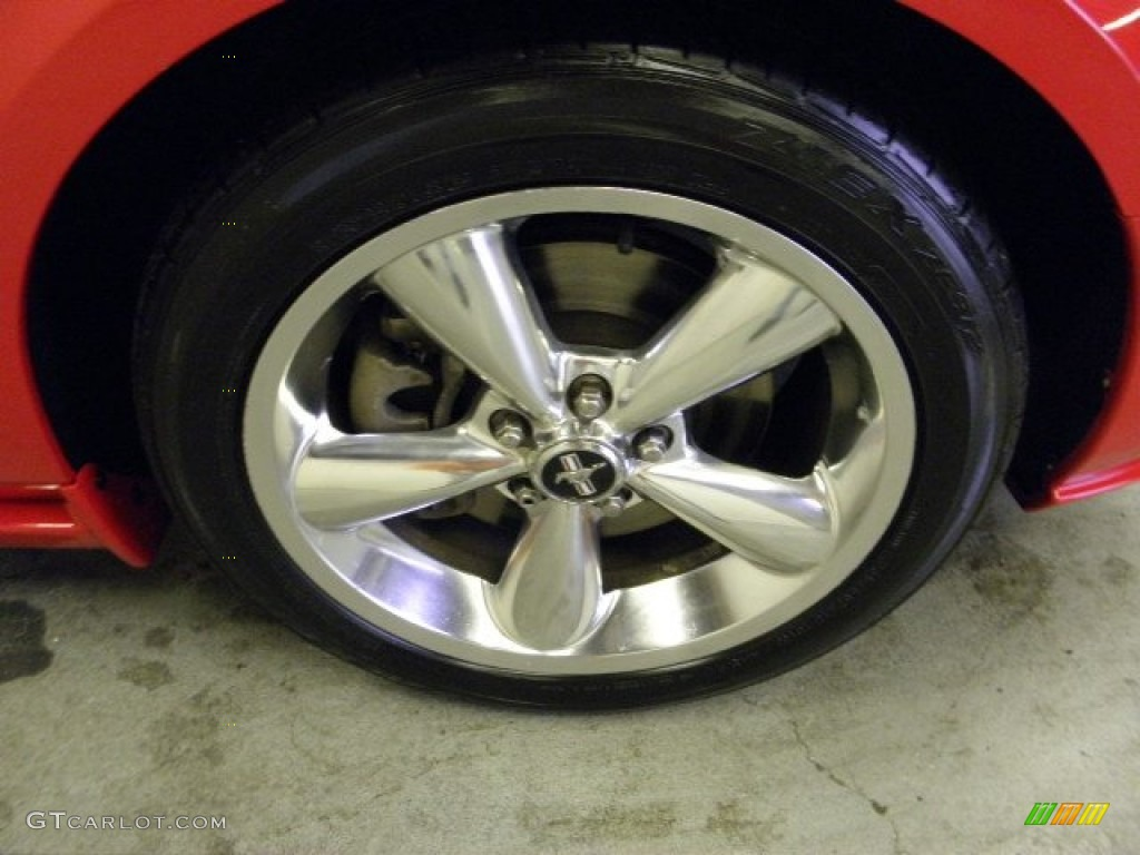 2006 Ford Mustang GT Premium Coupe Wheel Photo #55833290
