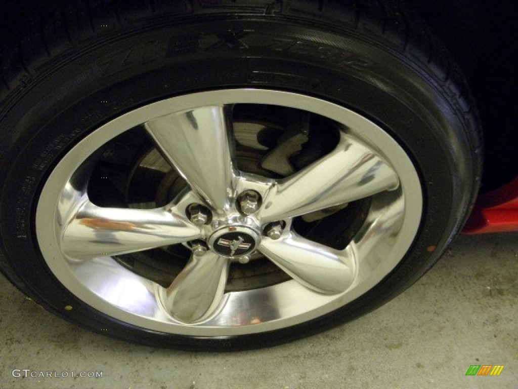 2006 Ford Mustang GT Premium Coupe Wheel Photo #55833347