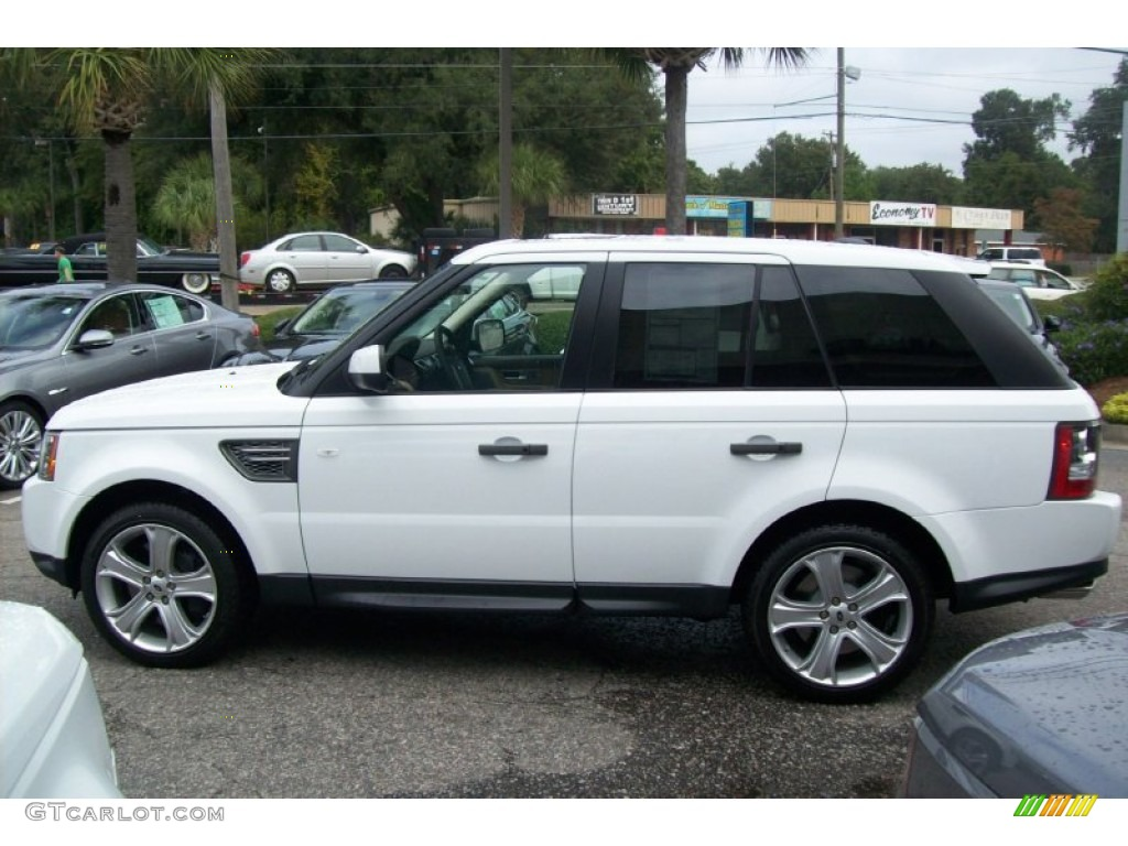 2011 Fuji White Land Rover Range Rover Sport Supercharged 55779585