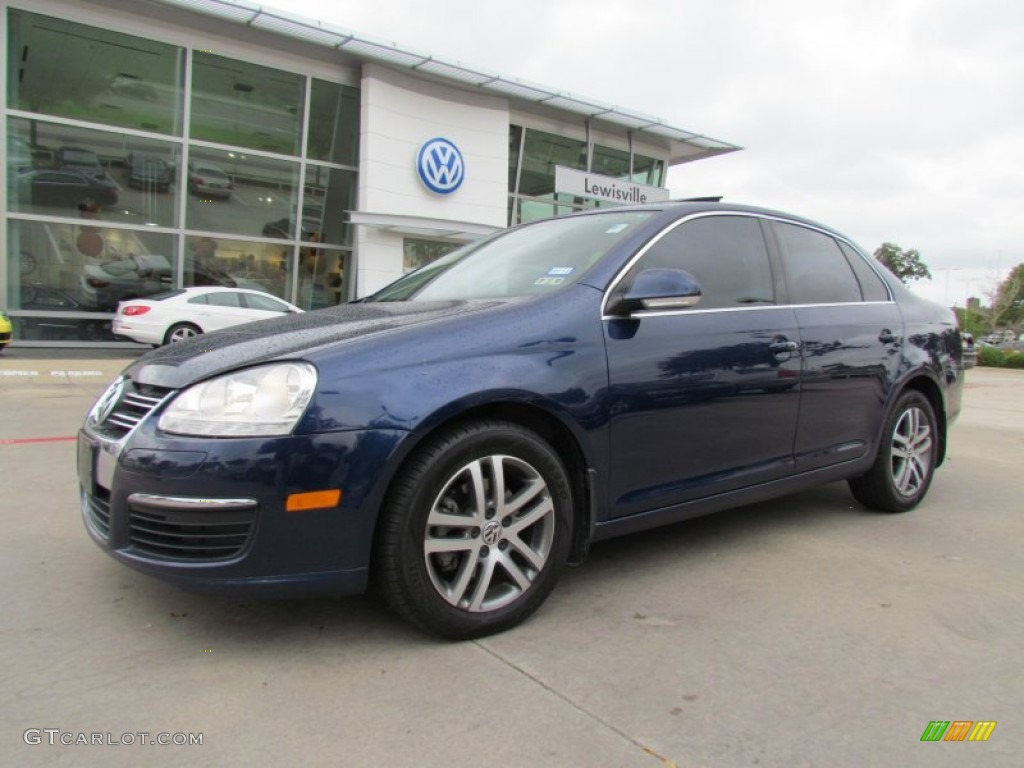 2006 shadow blue metallic volkswagen jetta tdi sedan 55779564 car color galleries. Black Bedroom Furniture Sets. Home Design Ideas