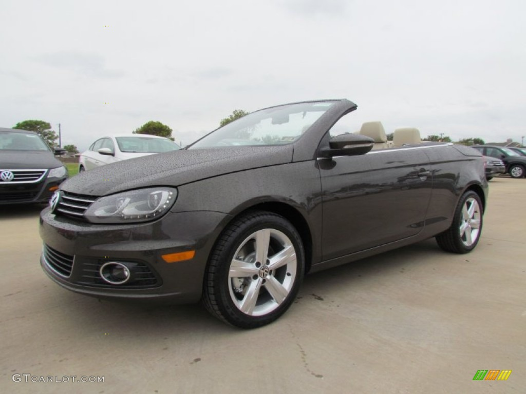2012 black oak brown metallic volkswagen eos lux 55779551. Black Bedroom Furniture Sets. Home Design Ideas
