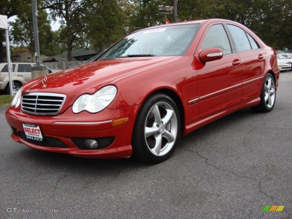 2005 mars red mercedes benz c 230 kompressor sedan for Mercedes benz kompressor 2005