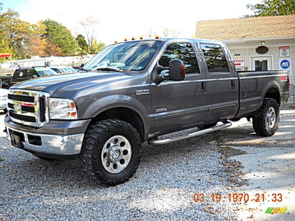 2005 Dark Shadow Grey Metallic Ford F350 Super Duty FX4 ...