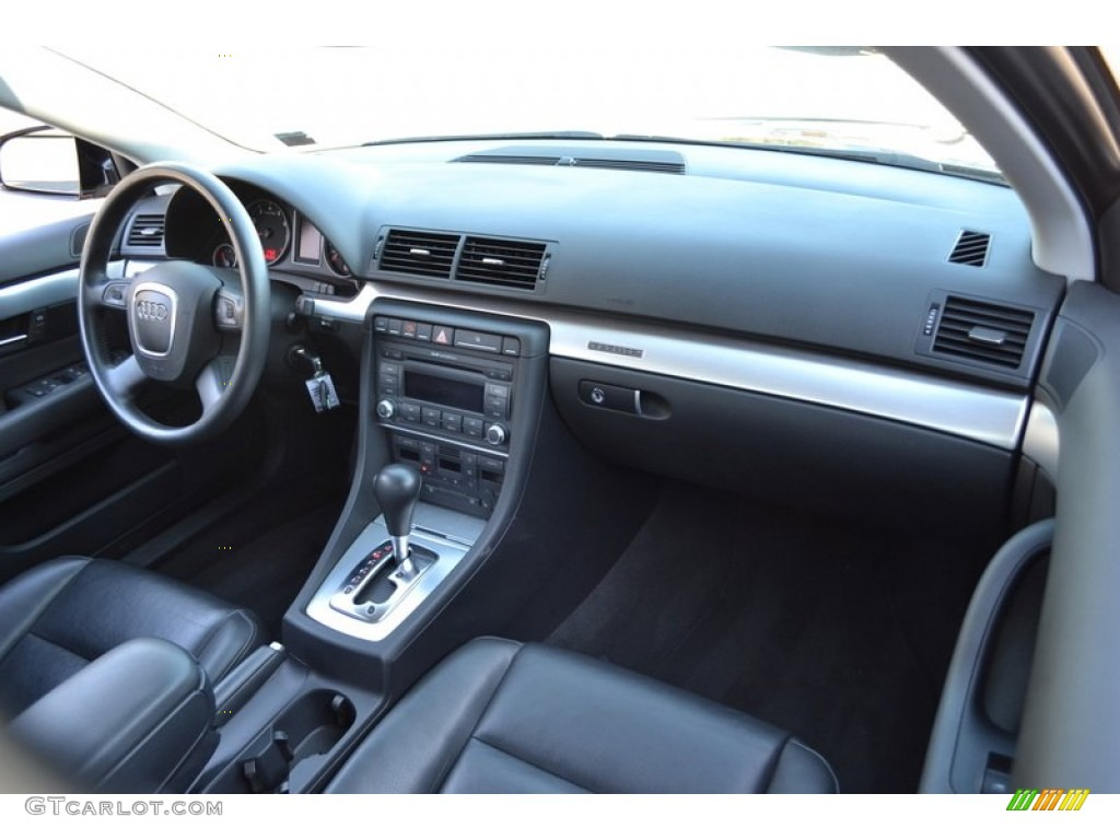 2007 audi a4 2.0t quattro sedan ebony dashboard photo #55852645