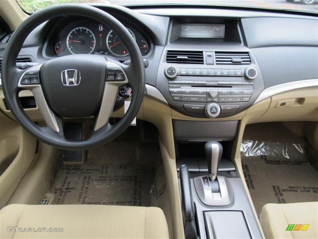 2012 Honda Accord Lx Sedan Ivory Dashboard Photo 55853536