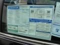 2012 Accord EX-L V6 Sedan Window Sticker