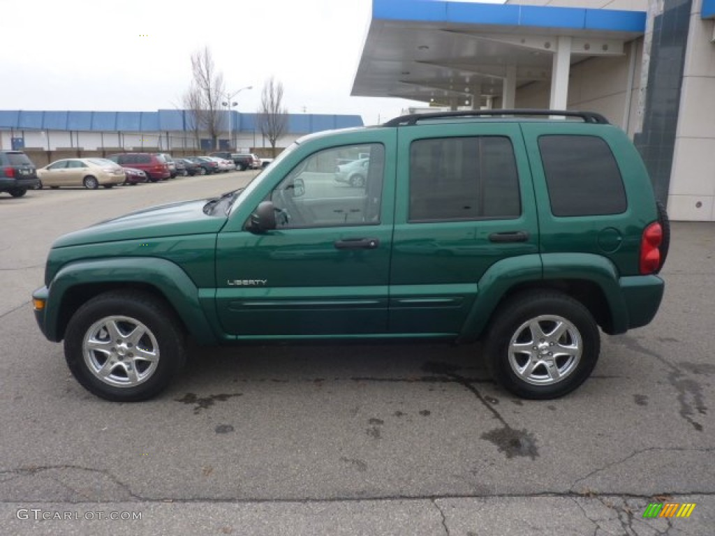 timberline green pearl 2004 jeep liberty limited 4x4. Black Bedroom Furniture Sets. Home Design Ideas
