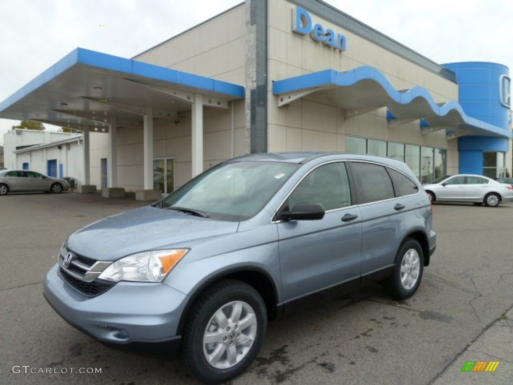 2011 CR-V SE 4WD - Glacier Blue Metallic / Gray photo #1