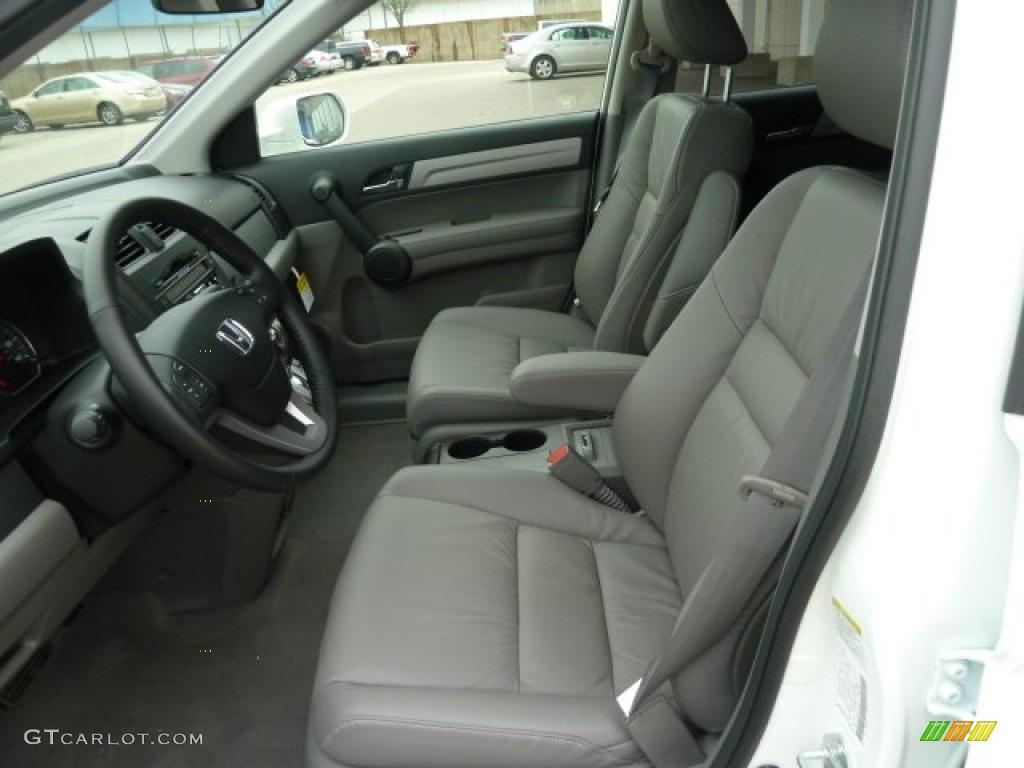 2011 CR-V EX-L 4WD - Taffeta White / Ivory photo #10