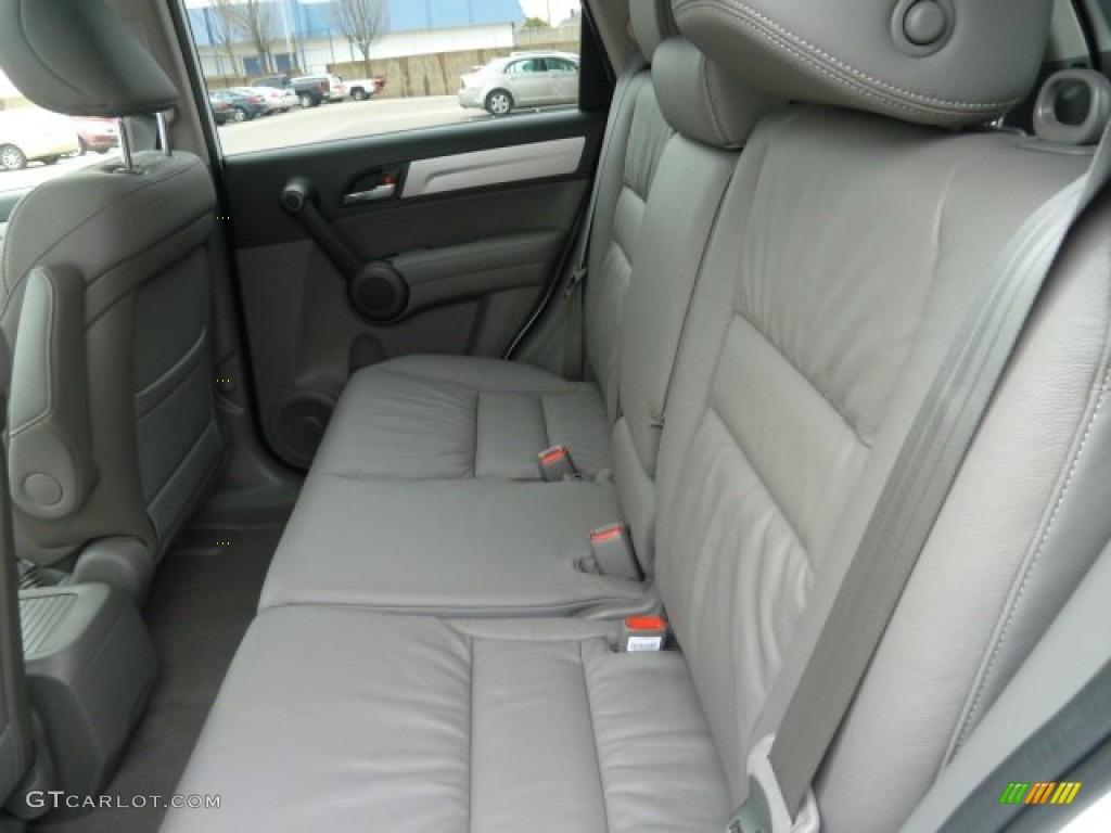 2011 CR-V EX-L 4WD - Taffeta White / Ivory photo #11