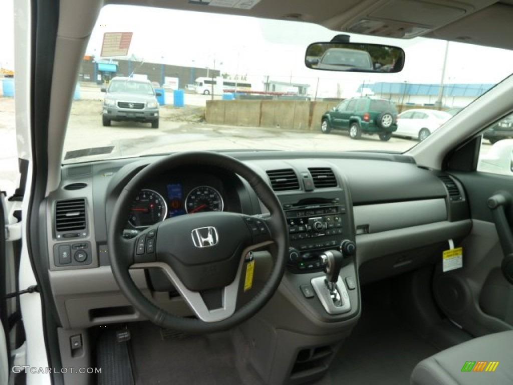 2011 CR-V EX-L 4WD - Taffeta White / Ivory photo #12