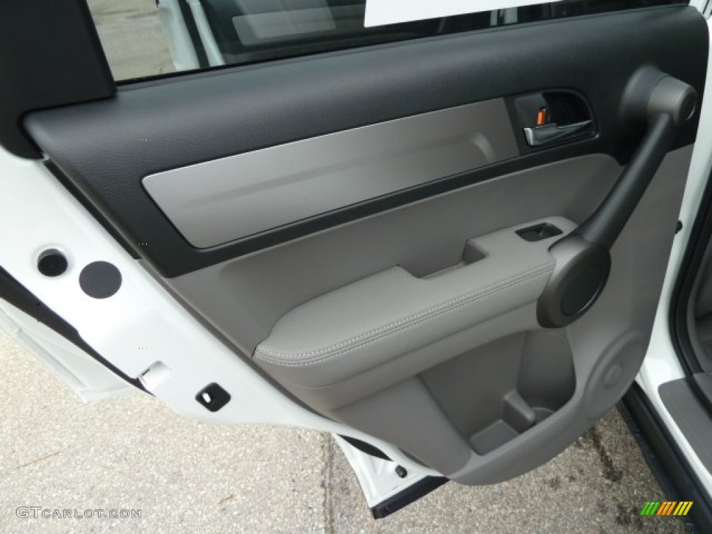 2011 CR-V EX-L 4WD - Taffeta White / Ivory photo #13