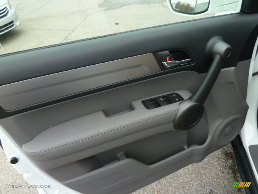 2011 CR-V EX-L 4WD - Taffeta White / Ivory photo #14