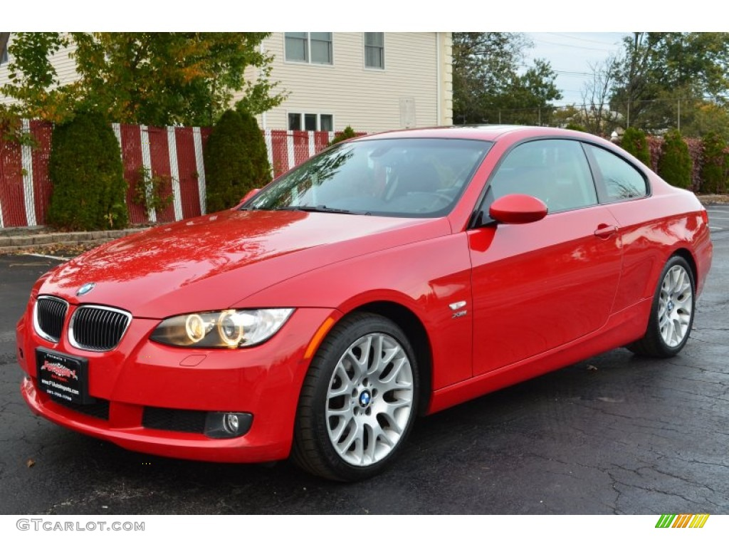 Crimson Red 2009 Bmw 3 Series 328xi Coupe Exterior Photo 55857719