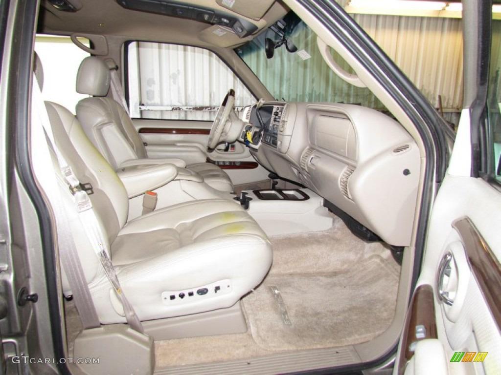2000 Cadillac Escalade 4wd Interior Photo 55863499