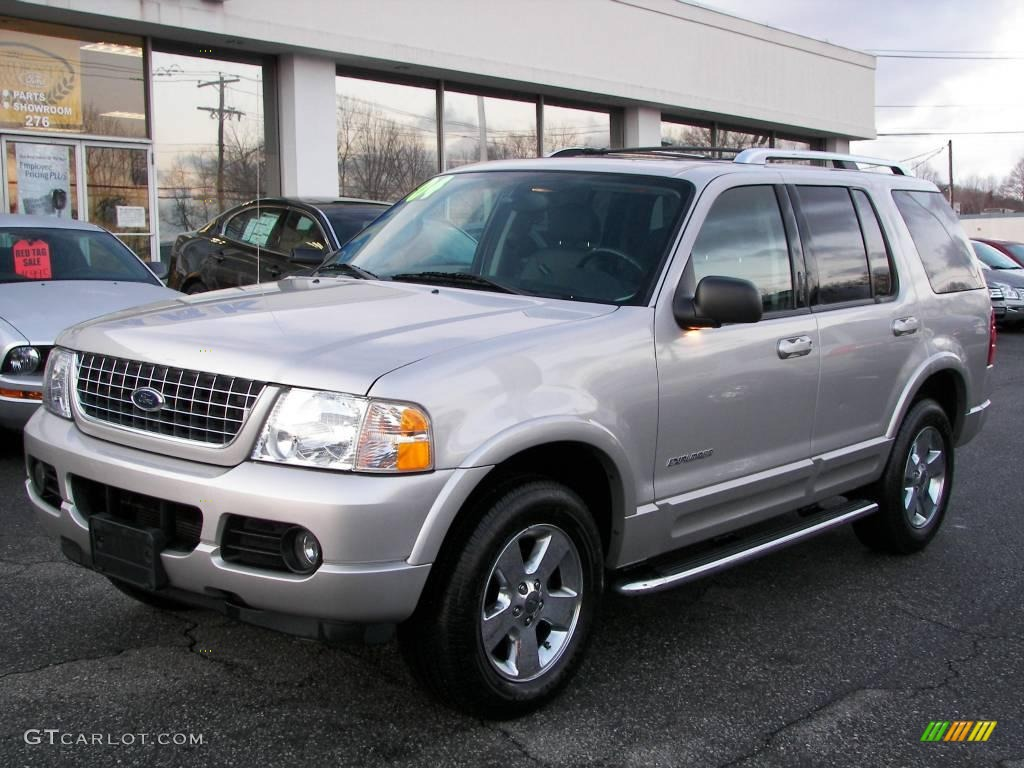 2004 Silver Birch Metallic Ford Explorer Limited 4x4
