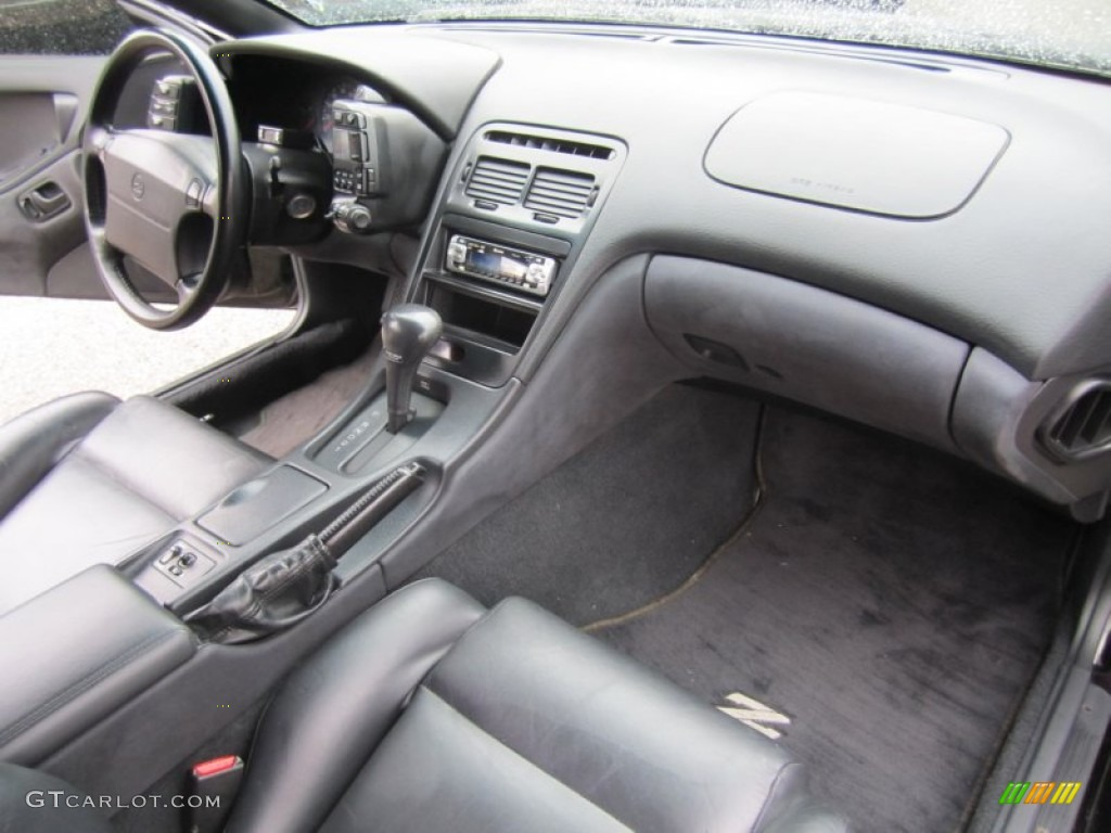 1996 Nissan 300zx Turbo Coupe Black Dashboard Photo 55872560