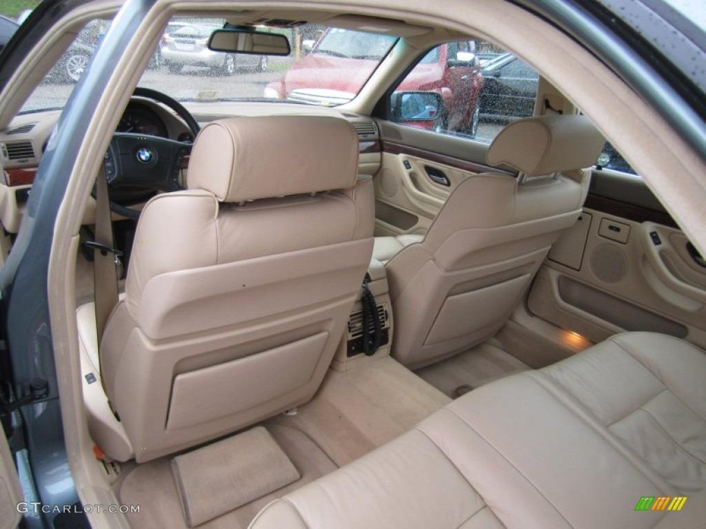 2001 bmw 7 series interior