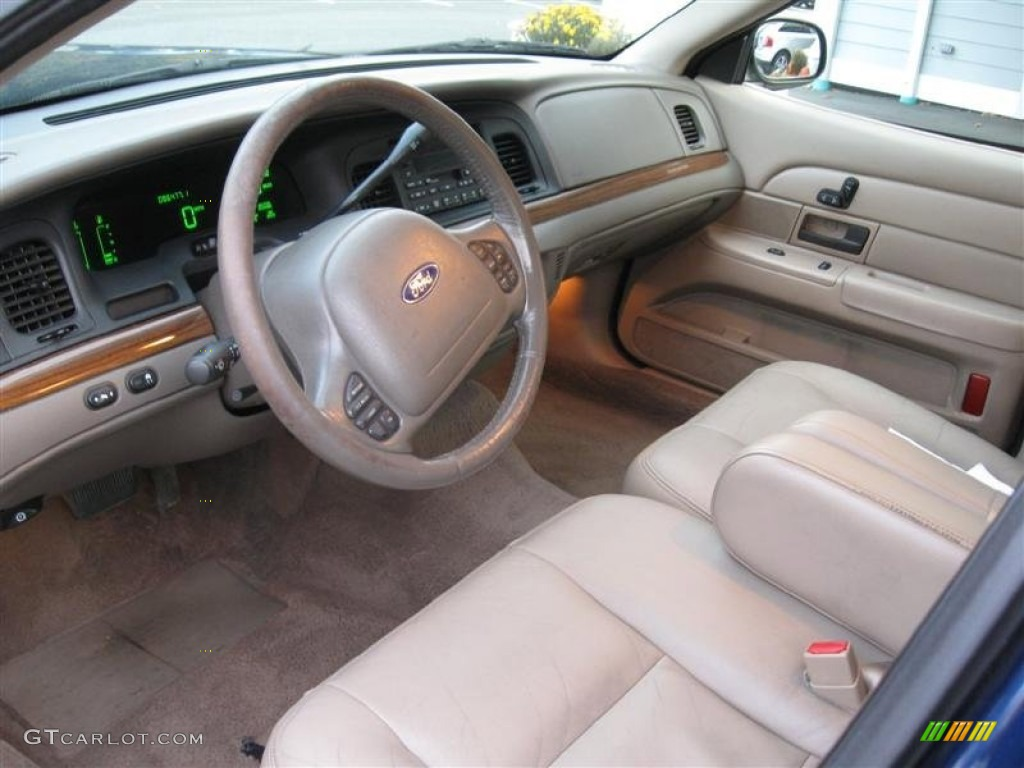 Medium Parchment Interior 2003 Ford Crown Victoria Lx Photo 55876087