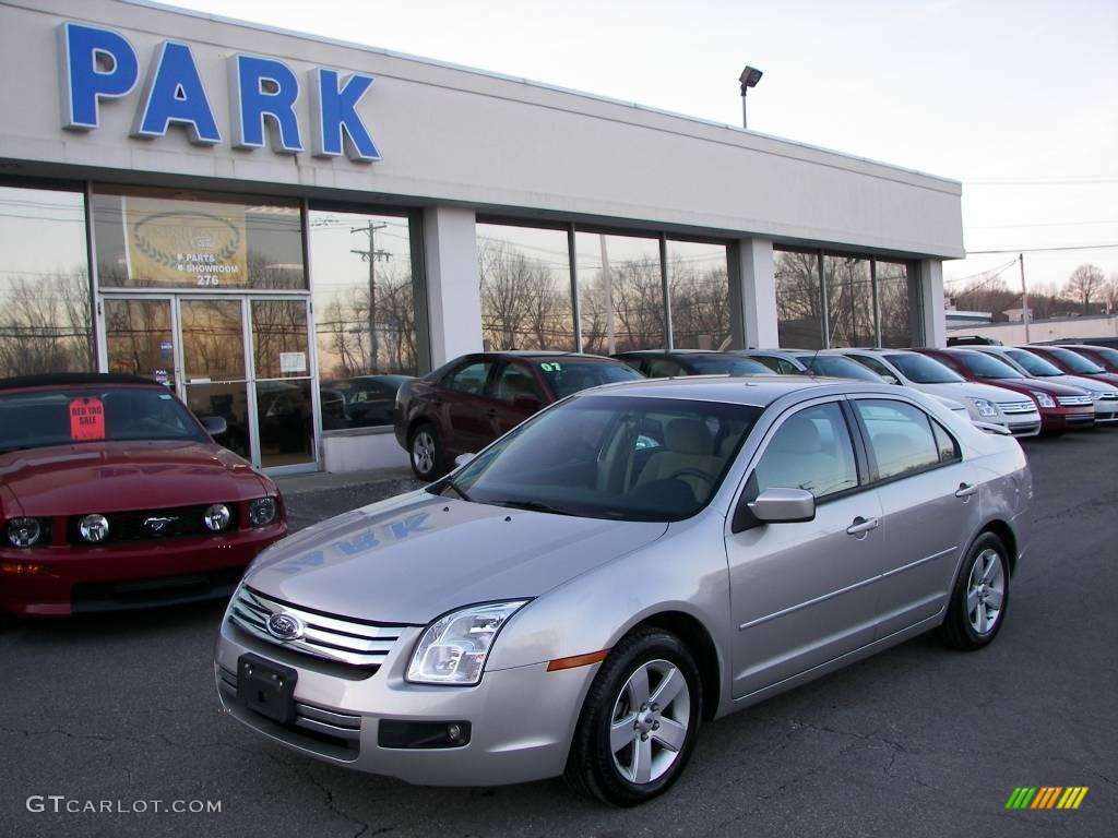 2007 silver birch metallic ford fusion se v6 awd 5560172. Black Bedroom Furniture Sets. Home Design Ideas