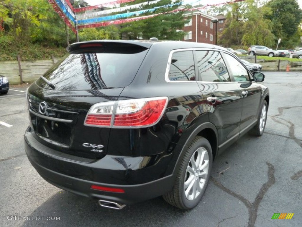 Brilliant Black 2012 Mazda Cx 9 Touring Awd Exterior Photo 55884886 Gtcarlot Com