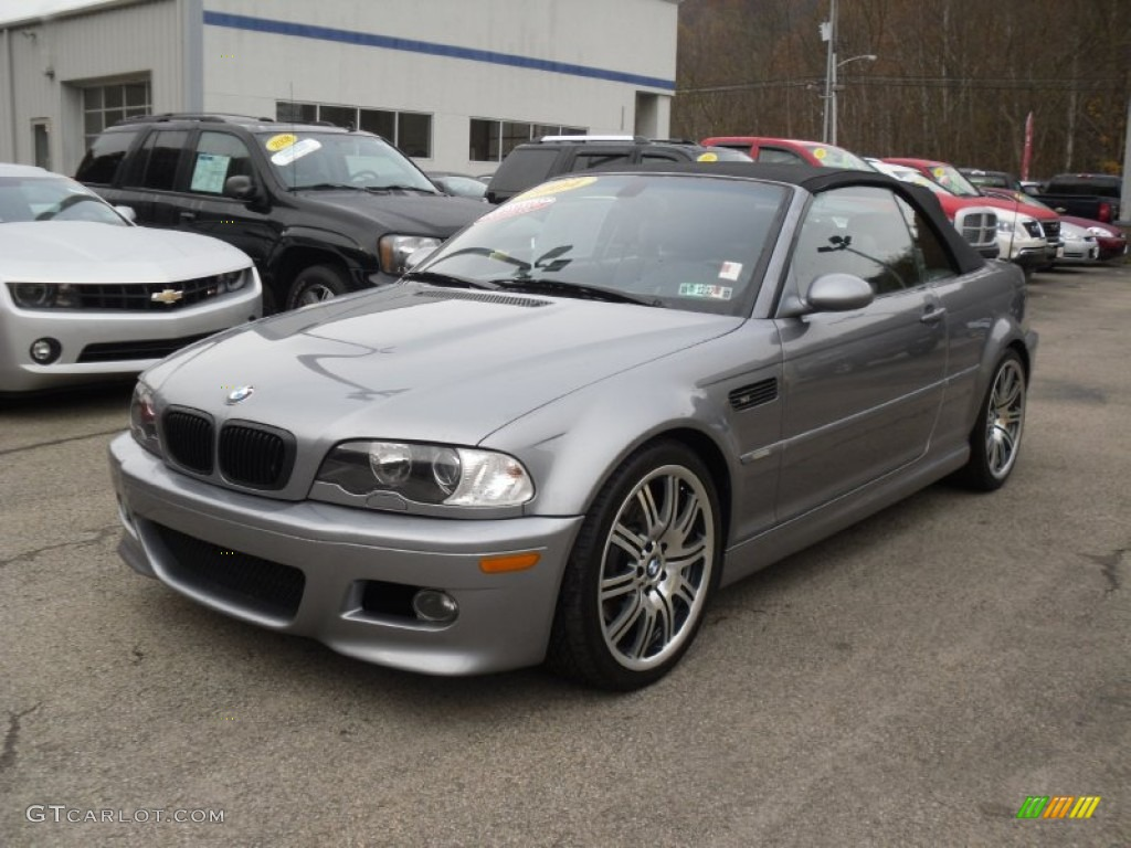 Silver Grey Metallic 2004 Bmw M3 Convertible Exterior