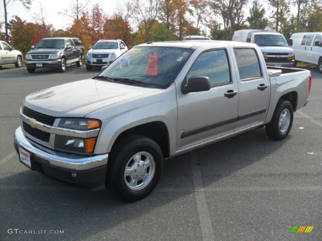 Silver birch metallic chevrolet colorado